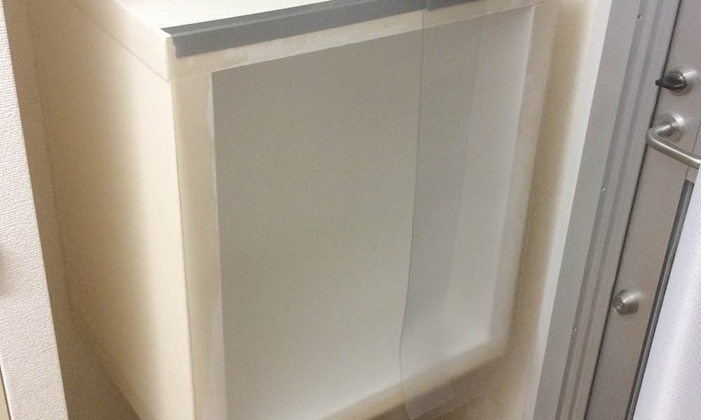 Painting Booth with Ventilator